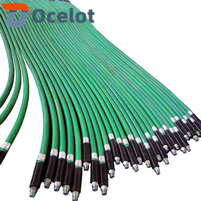 BOP control hose is maded for the high temperature and high-pressure steel wire winding rubber tube as the matrix. The outer skin coated with nano refractory coating layer, stainless steel wire braided layer and flame retardant layer.