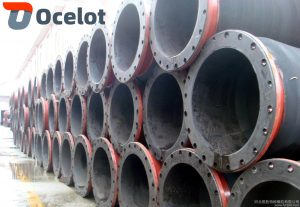 There are mainly large diameter mud suction and discharge pipes, steel flange type mud discharge pipes, flamed type mud discharge pipes, flexible flange type mud discharge pipes and so on, among which the most common is large diameter mud suction and discharge pipes.