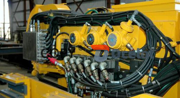 the application of hydraulic hose